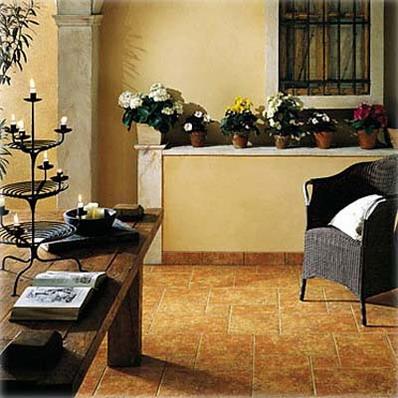 кафельная плитка в интерьере гостиной