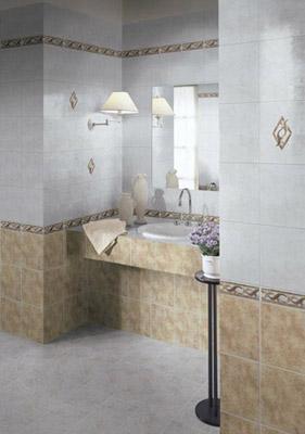 фото интерьера кухни французской керамической плитки