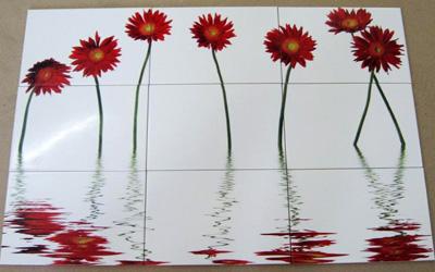 ультрафиолетовая печать картинки на плитке