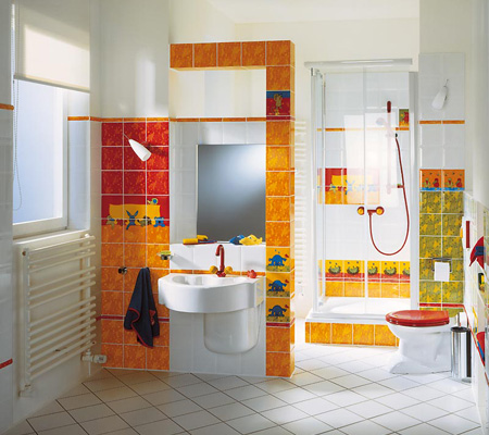 детска ванная комната